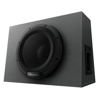"Pioneer® - 12"" Sealed Powered 1300W Subwoofer Enclosure"