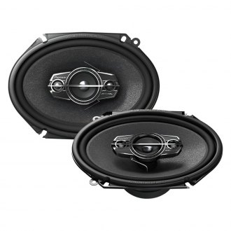 "Pioneer® - 6"" x 8"" 4-Way A-Series 350W Coaxial Speakers"