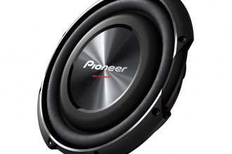 "Pioneer® TSSW2502S4 - 10"" ib-Flat Series Shallow Mount 1200W 4-ohm DVC Subwoofer"