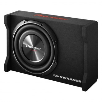 "Pioneer® - 10"" ib-Flat Series Single Shallow Mount Sealed Passive 1200W Subwoofer Enclosure"