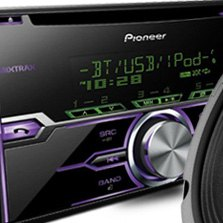 Pioneer® - Double Din CD Mp3 Receiver