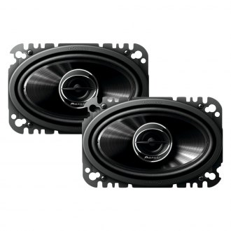 "Pioneer® - 4"" x 6"" 2-Way G-Series 200W Coaxial Speakers"