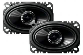 "Pioneer® - 4"" x 6"" G-Series 2-Way 200W Speakers"