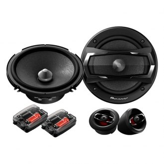 Pioneer® - 6-1/2 350W A-Series Component Speaker System