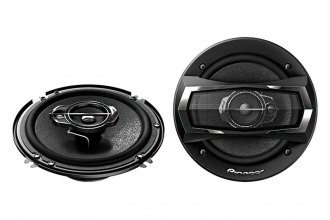 "Pioneer® - 6-1/2"" A-Series 3-Way 300W Coaxial Speakers"