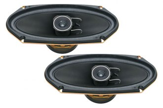 "Pioneer® - 4"" x 10"" A-Series 2-Way 120W Coaxial Speakers"