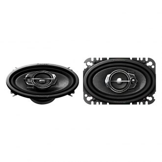"Pioneer® - 4"" x 6"" 3-Way A-Series 200W Coaxial Speakers"