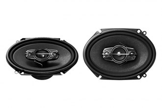 "Pioneer® - 6"" x 8"" A-Series 4-Way 350W Coaxial Speakers"