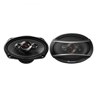 "Pioneer® - 6"" x 9"" 4-Way A-Series 600W Coaxial Speakers"