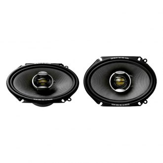 "Pioneer® - 6"" x 8"" 2-Way D-Series 260W Coaxial Speakers"