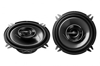 "Pioneer® - 5-1/4"" G-Series 2-Way 220W Coaxial Speakers with Silver IMPP Cone"