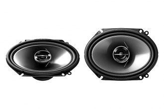 "Pioneer® - 6"" x 8"" G-Series 2-Way 250W Coaxial Speakers with Silver IMPP Cone"