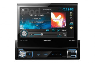 "Pioneer® - 7"" Single DIN In-Dash DVD Multimedia A/V Receiver with Bluetooth"
