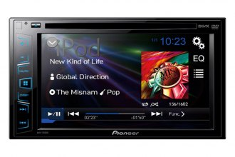 "Pioneer® - Double DIN DVD/MP3/CD/USB/SD Receiver with 6.2"" LCD Monitor and Back-Up Camera Input"