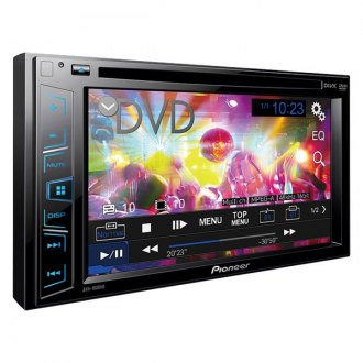 "Pioneer® - Double DIN DVD/CD/AM/FM/MP3/WMA/AAC Receiver with 6.2"" Display"