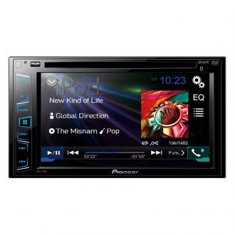 "Pioneer® - Double DIN DVD/MP3/CD/USB/SD Receiver with 6.2"" LCD Monitor and Bluetooth"