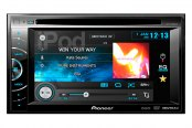 "Pioneer® - Double DIN In-Dash 6.1"" Touchscreen DVD/MP3/USB Stereo Receiver"