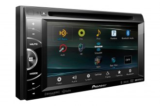 "Pioneer® - Double DIN In-Dash DVD/CD/MP3 Stereo Receiver with 6.1"" WVGA Touchscreen Display"
