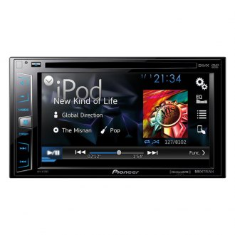 "Pioneer® - Double DIN DVD/MP3/CD/USB/SD Receiver with 6.2"" LCD Monitor, Pandora Radio Support, Mirror Link Support and Graphic Equalizer"