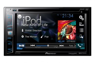 "Pioneer® - Double DIN DVD/MP3/CD/USB/SD Receiver with 6.2"" Display and Bluetooth"