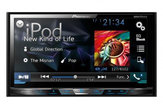"Pioneer® - Double DIN DVD/MP3/CD/USB/SD Receiver with 7"" Display"