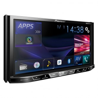 "Pioneer® - Double DIN DVD/CD/AM/FM/MP3/WMA/AAC/FLAC Receiver with 7"" Motorized Display, Built-In Bluetooth, Siri Eyes Free, SiriusXM-Ready, Spotify and AppRadio One"