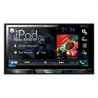 "Pioneer® - Double DIN DVD/MP3/CD/USB/SD Receiver with 7"" Display with Dual Camera Inputs"