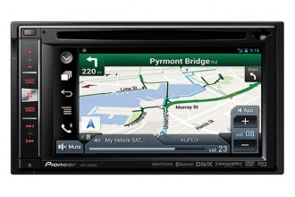"Pioneer® - Double DIN DVD/MP3/CD/USB/SD Receiver with 6.1"" LCD Monitor, Bluetooth and GPS"