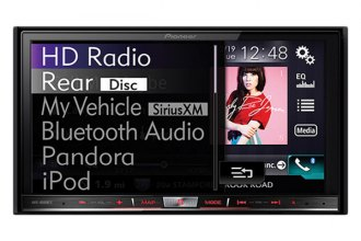 "Pioneer® - Double DIN DVD/MP3/CD/USB/SD Receiver with 7"" Built-in HD RadioT, LCD Monitor, Bluetooth, GPS and Capacitive Touchscreen Display"