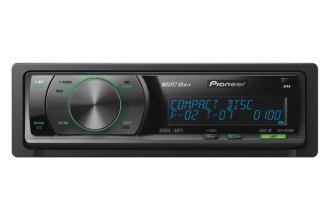 Pioneer® - Single DIN In-Dash CD / MP3 Receiver