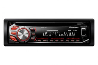 Pioneer® - Single DIN CD/MP3/AM/FM/USB Receiver with Mixtrax Support, Remote