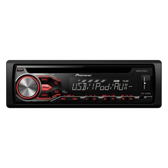 Pioneer® - Single DIN CD In-Dash Receiver with MIXTRAX, USB, Pandora, Android Music Support