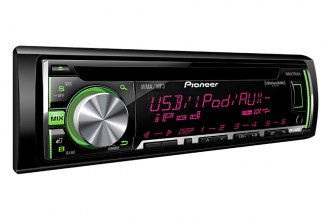 Pioneer® - Single DIN CD/MP3/WMA/AM/FM Stereo Receiver