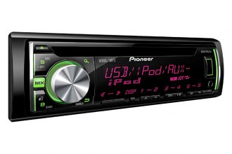 Pioneer® - Single DIN In-Dash CD/MP3/WMA/AM/FM Stereo Receiver with Android, iPhone and Pandora Radio Support