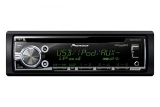 Pioneer® - Single DIN In-Dash CD/MP3 Receiver with MIXTRAX, SiriusXM-Ready, USB Playback and Android Music Support