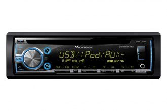 Pioneer® - Single DIN In-Dash CD / MP3 Receiver with MIXTRAX, SiriusXM-Ready, USB Playback, Android Music Support