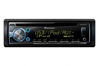Pioneer® - Single DIN In-Dash CD / MP3 Receiver with MIXTRAX, USB Playback, Android Music Support