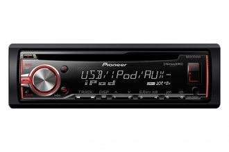 Pioneer® - Single-Din In-Dash CD Receiver with MIXTRAX, SiriusXM, USB, Pandora, Android Music Support and Color Customization