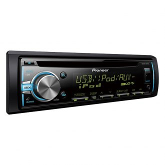 Pioneer® - Single DIN CD/AM/FM/MP3/WMA/AAC In-Dash Receiver with MIXTRAX, USB, Pandora android Music Support and Color Customization