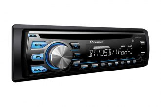 Pioneer® - Single DIN In-Dash CD/MP3 Receiver with MIXTRAX, Bluetooth, Siri Eyes Free, USB Playback and Android Music Support