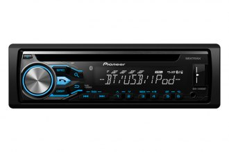 Pioneer® - Single-Din In-Dash CD Receiver with MIXTRAX, Bluetooth, Siri Eyes Free, USB, Pandora, Android Music Support