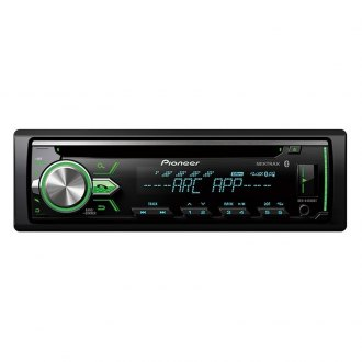 Pioneer® - Single DIN CD/AM/FM/MP3/WMA/AAC In-Dash Receiver with MIXTRAX, Built-In Bluetooth and Color Customization
