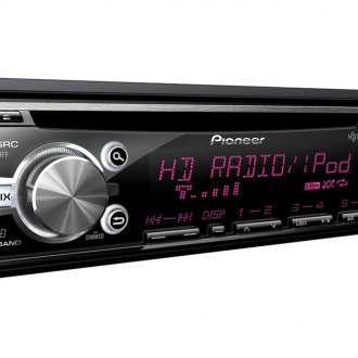 Pioneer® - Single DIN In-Dash CD/MP3 Receiver with MIXTRAX, HD Radio, USB Playback and Android Music Support