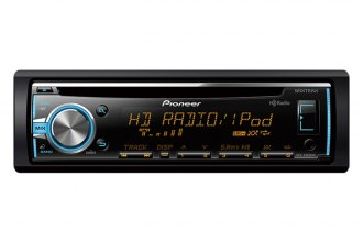 Pioneer® - Single-Din In-Dash CD Receiver with MIXTRAX, HD Radio, USB, Pandora, Android Music Support and Color Customization