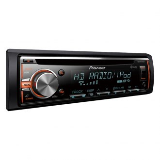 Pioneer® - Single DIN CD/AM/FM/MP3/WMA/AAC In-Dash Receiver with MIXTRAX, HD Radio, USB, Pandora android Music Support and Color Customization