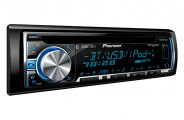 Pioneer® DEHX6600BS - Single DIN In-Dash CD/MP3/WMA/AM/FM Stereo Receiver with Bluetooth, Android, iPhone and Pandora Radio Support