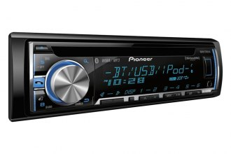 Pioneer® - Single DIN In-Dash CD/MP3/WMA/AM/FM Stereo Receiver with Bluetooth, Android, iPhone and Pandora Radio Support