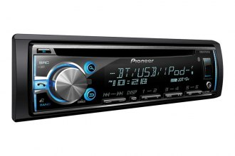 Pioneer® - Single DIN In-Dash CD / MP3 Receiver with MIXTRAX, Bluetooth, SiriusXM Ready, Siri Eyes Free, USB Playback, Android Music Support