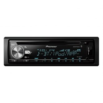Pioneer® - Single DIN CD/AM/FM/MP3/WMA/AAC/FLAC In-Dash Receiver with AMIXTRAX and Built-In Bluetooth