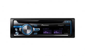 Pioneer® - Single DIN In-Dash CD/MP3/WMA/AM/FM Stereo Receiver with AUX and Sirius/XM Ready